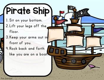 Pirate Themed Yoga