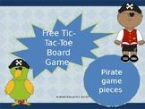 Pirate Tic-Tac-Toe