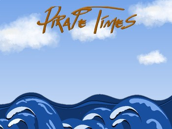 Pirate Times-PowerPoint Timer (Fully Editable)