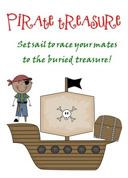 Pirate Treasure 10 More 10 Less Board Game