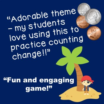 Pirate Treasure! A Money Counting Game
