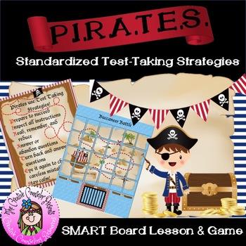 Standardized Test Taking Strategies Lesson & Buccaneer Battle Test Prep Game