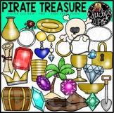 Pirate Treasure Clip Art Set {Educlips Clipart}