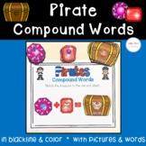Pirate Treasure Compound Words Practice