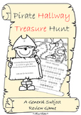 Pirate Treasure Hallway Hunt