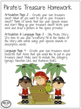 Pirate Treasure Homework