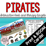 Pirate Treasure Hunt Interactive Book and Therapy Targets!