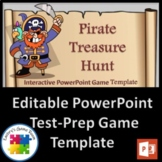 Pirate Treasure Hunt PowerPoint Game Template