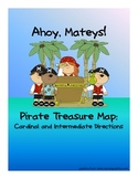 Pirate Treasure Map - Cardinal and Intermediate Directions Activity