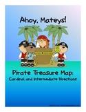 Pirate Treasure Map - Cardinal and Intermediate Directions