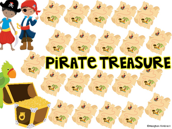 Pirate Treasure Path Game