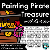 Pirate Treasure Q-Tip Painting