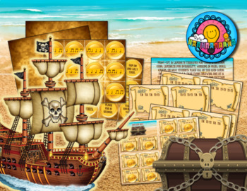 Pirate Treasures Rhythm Game Ta TiTi with Movement Breaks Station Center Sub