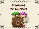 Pirate Treasures for Teachers