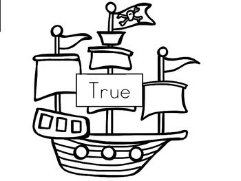 Pirate True or False