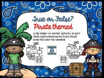 Pirate True or False