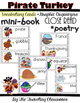 Pirate Turkey - Close Reading - Mini Book - Poetry