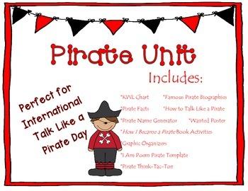 Pirate Unit & Activities