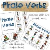 Pirate Verbs Adapted Book // Speech Therapy // Grammar //