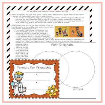 """Pirate, Viking & Scientist"" Book Activity Pack"