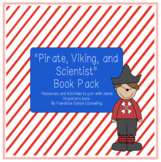 """Pirate, Viking & Scientist"" Book Activity Pack"