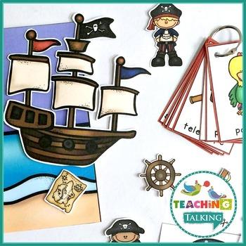 Pirate Vocabulary Activities