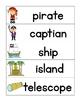 Pirate Vocabulary Words