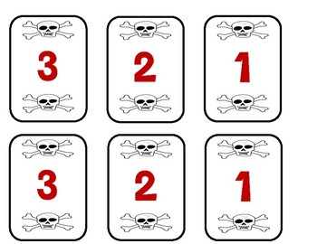 Walk the Plank Number Line Game