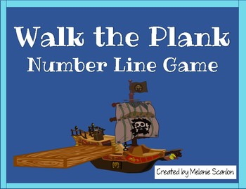 Pirate Number Line Game
