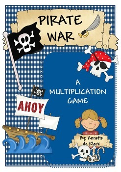 Pirate War - A Multiplication Game