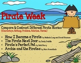 Pirate Week-Reading Chart-Compare & Contrast 4 Books - Sto