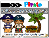 "Pirate ""Where Are We?"" Cards"
