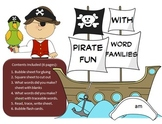 Pirate Word Family Fun -Activity/Projects- 61 word familie