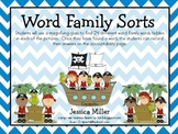 Pirate Word Family Search & Find Sorts