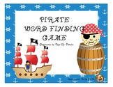 Pirate Word-Finding Game: A Companion to Pop-Up Pirate