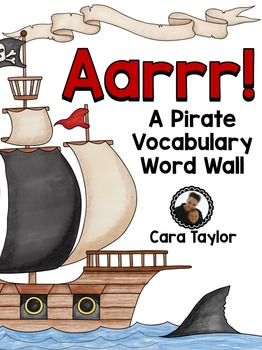 Pirate Word Wall