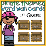 Pirate Word Wall Cards 1st Grade Sight Words