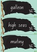 Pirate Word Wall Vocabulary – Black Flag