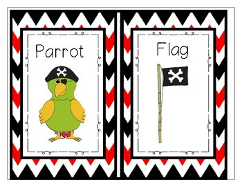 Pirate Write The Room- Rhyming Pairs
