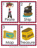Pirate Write the Room Activity