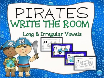 Pirate Write the Room Long & Irregular Vowels