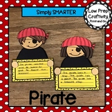 Pirate Writing Cut and Paste Craftivity