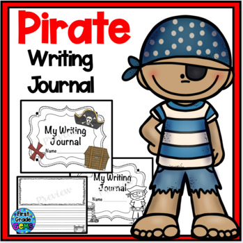 Pirate Writing Journal
