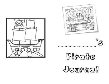 Pirate Writing Journal