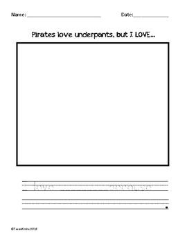 Pirate Writing Pack