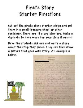 Pirate Writing Unit