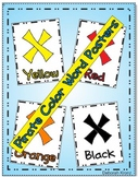 Pirate X Marks the Spot Color Word Posters