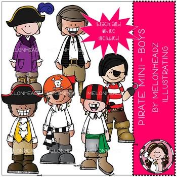 Pirate clip  art - Boys - Mini - by Melonheadz