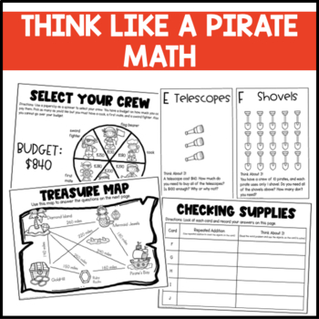 Pirate for the Day: Lessons and Activities