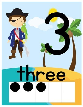 Pirate number signs